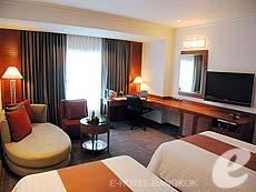 バンコク カップル&ハネムーンのホテル : アマリ ウォーターゲート ホテル & スパ(Amari Watergate Hotel & Spa)のお部屋「デラックス」