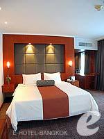 バンコク カップル&ハネムーンのホテル : アマリ ウォーターゲート ホテル & スパ(Amari Watergate Hotel & Spa)のコーナー スイートルームの設備 Bedroom