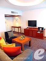 バンコク カップル&ハネムーンのホテル : アマリ ウォーターゲート ホテル & スパ(Amari Watergate Hotel & Spa)のコーナー スイートルームの設備 Room View
