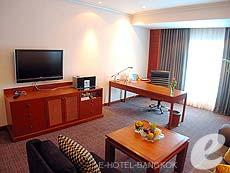 バンコク カップル&ハネムーンのホテル : アマリ ウォーターゲート ホテル & スパ(Amari Watergate Hotel & Spa)のお部屋「コーナー スイート」