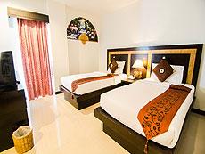 プーケット インターネット接続(無料)のホテル : アマタ パトン(1)のお部屋「スタンダード」