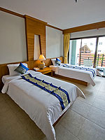 プーケット 5,000~10,000円のホテル : アマタ パトン(Amata Patong)のデラックスルームの設備 Bedroom