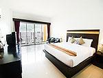プーケット インターネット接続(無料)のホテル : アマタ パトン(Amata Patong)のデラックス /スーペリア プールビューウィングルームの設備 Bedroom