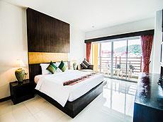 プーケット インターネット接続(無料)のホテル : アマタ パトン(1)のお部屋「デラックス /スーペリア プールビューウィング」