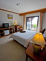 プーケット インターネット接続(無料)のホテル : アマタ パトン(Amata Patong)のジュニアスイートルームの設備 Bedroom
