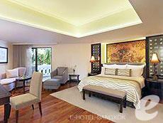 バンコク カップル&ハネムーンのホテル : アナンタラ リバーサイド バンコク リゾート(Anantara Riverside Bangkok Resort)のお部屋「ジュニア プレミア」