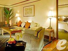 バンコク カップル&ハネムーンのホテル : アナンタラ リバーサイド バンコク リゾート(Anantara Riverside Bangkok Resort)のお部屋「アナンタラ スイート」
