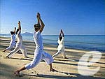 Seaside Yoga : Anantara Mai Khao Phuket Villas, Serviced Villa, Phuket