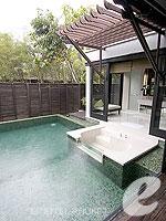 プーケット インターネット接続(無料)のホテル : アナンタラ マイカオ プーケット ビラ(Anantara Mai Khao Phuket Villas)のプールヴィラルームの設備 Outdoor Bathtub