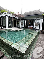 プーケット スパ併設のホテル : アナンタラ プーケット ビラ(Anantara Phuket Villas)のプールヴィラルームの設備 Private Pool