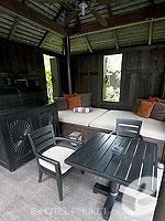 プーケット スパ併設のホテル : アナンタラ プーケット ビラ(Anantara Phuket Villas)のプールヴィラルームの設備 Sala (Thai-Style Arbor)
