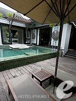 プーケット スパ併設のホテル : アナンタラ プーケット ビラ(Anantara Phuket Villas)のプールヴィラルームの設備 Chair