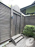 プーケット スパ併設のホテル : アナンタラ プーケット ビラ(Anantara Phuket Villas)のプールヴィラルームの設備 Entrance