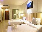 プーケット プールアクセスのホテル : アンダキラ ホテル(Andakira Hotel)のスーペリア(ツイン/ダブル)ルームの設備 Bath Room