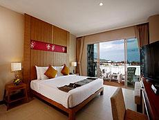 プーケット プールアクセスのホテル : アンダキラ ホテル(1)のお部屋「スーペリア(ツイン/ダブル)」