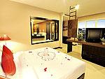 プーケット プールアクセスのホテル : アンダキラ ホテル(Andakira Hotel)のデラックス シングルルームの設備 Room View