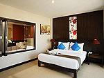プーケット プールアクセスのホテル : アンダキラ ホテル(Andakira Hotel)のデラックス(ツイン/ダブル)ルームの設備 Room View