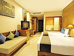 プーケット プールアクセスのホテル : アンダキラ ホテル(Andakira Hotel)のデラックス プールアクセス シングルルームの設備 Room View
