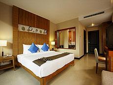プーケット プールアクセスのホテル : アンダキラ ホテル(1)のお部屋「デラックス プールアクセス シングル」