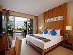 プーケット プールアクセスのホテル : アンダキラ ホテル(Andakira Hotel)のデラックス プールアクセス(ツイン/ダブル)ルームの設備 Room View