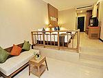プーケット プールアクセスのホテル : アンダキラ ホテル(Andakira Hotel)のデラックス トリプルルームの設備 Room View