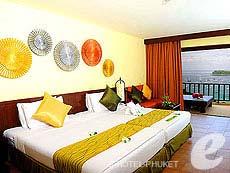プーケット カタビーチのホテル : アンダマン カナーシア リゾート & スパ(1)のお部屋「カンナ デラックス」