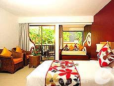 プーケット カタビーチのホテル : アンダマン カナーシア リゾート & スパ(1)のお部屋「ファミリー デラックス」