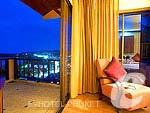 プーケット カタビーチのホテル : アンダマン カナーシア リゾート & スパ(Andaman Cannacia Resort & Spa)のハネムーン スイートルームの設備 Room View