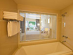 プーケット パトンビーチのホテル : アンダマン エンブレイス リゾート & スパ(Andaman Embrace Resort & Spa)のアンダマン デラックスルームの設備 Bath Room