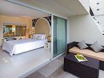 プーケット パトンビーチのホテル : アンダマン エンブレイス リゾート & スパ(Andaman Embrace Resort & Spa)のバルコニーデラックスルームの設備 Room View