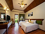 プーケット 2ベッドルームのホテル : アンダマン エンブレイス リゾート & スパ(Andaman Embrace Resort & Spa)のロータス コテージルームの設備 Bed Room