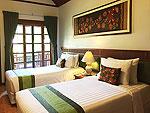 プーケット パトンビーチのホテル : アンダマン エンブレイス リゾート & スパ(Andaman Embrace Resort & Spa)のロータス コテージルームの設備 Bed Room