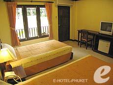 プーケット インターネット接続(無料)のホテル : アンダマンズ ハウス(1)のお部屋「スタンダード」