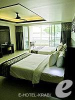 クラビ プールアクセスのホテル : アンヤウィー タプケーク ビーチ リゾート(Anyavee Tubkaek Beach Resort)のデラックスルームの設備 Room View
