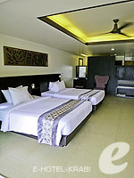 クラビ フィットネスありのホテル : アンヤウィー タプケーク ビーチ リゾート(Anyavee Tubkaek Beach Resort)のデラックスルームの設備 Room View
