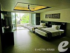 クラビ フィットネスありのホテル : アンヤウィー タプケーク ビーチ リゾート(1)のお部屋「デラックス」