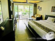 クラビ フィットネスありのホテル : アンヤウィー タプケーク ビーチ リゾート(1)のお部屋「デラックス プールアクセス」