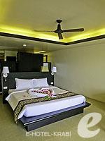 クラビ プールアクセスのホテル : アンヤウィー タプケーク ビーチ リゾート(Anyavee Tubkaek Beach Resort)のジャグジー シービュールームの設備 Room View