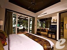 クラビ フィットネスありのホテル : アンヤウィー タプケーク ビーチ リゾート(1)のお部屋「ジャグジー ヴィラ シービュー」
