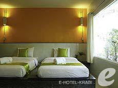 クラビ インターネット接続(無料)のホテル : アオナン パラダイス リゾート(1)のお部屋「スーペリア ルーム」