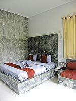 クラビ インターネット接続(無料)のホテル : アオナン パラダイス リゾート(Aonang Paradise Resort)のデラックス ルームルームの設備 Bedroom