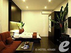 クラビ インターネット接続(無料)のホテル : アオナン パラダイス リゾート(1)のお部屋「デラックス プレミア クリフ ビュー」