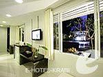 クラビ インターネット接続(無料)のホテル : アオナン パラダイス リゾート(Aonang Paradise Resort)のグランド デラックス プール サイドルームの設備 Room View