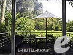 クラビ インターネット接続(無料)のホテル : アオナン パラダイス リゾート(Aonang Paradise Resort)のグランド デラックス プール サイドルームの設備 View from Window