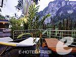クラビ インターネット接続(無料)のホテル : アオナン パラダイス リゾート(Aonang Paradise Resort)のグランド デラックス プール サイドルームの設備 Balcony