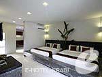 クラビ インターネット接続(無料)のホテル : アオナン パラダイス リゾート(Aonang Paradise Resort)のファミリー ルームルームの設備 Bedroom