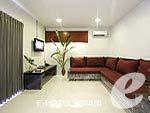 クラビ インターネット接続(無料)のホテル : アオナン パラダイス リゾート(Aonang Paradise Resort)のファミリー ルームルームの設備 Living Room