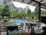 Poolside Restaurant / Aonang Phu Petra Resort, หาดอ่าวนาง