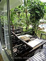 Balcony : Superior Garden View at Aonang Villa Resort, Kids Room, Krabi