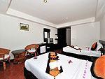 プーケット カップル&ハネムーンのホテル : エーピーケー リゾート(APK Resort)のスーペリアルームの設備 Bedroom